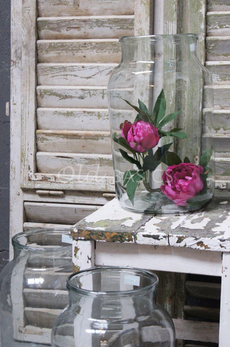 Detail van Vaas, materiaal glas