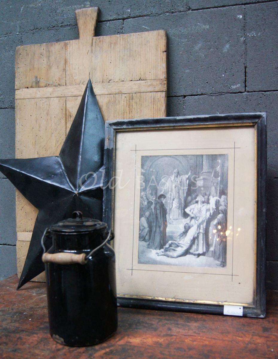 Schilderij, materiaal hout
