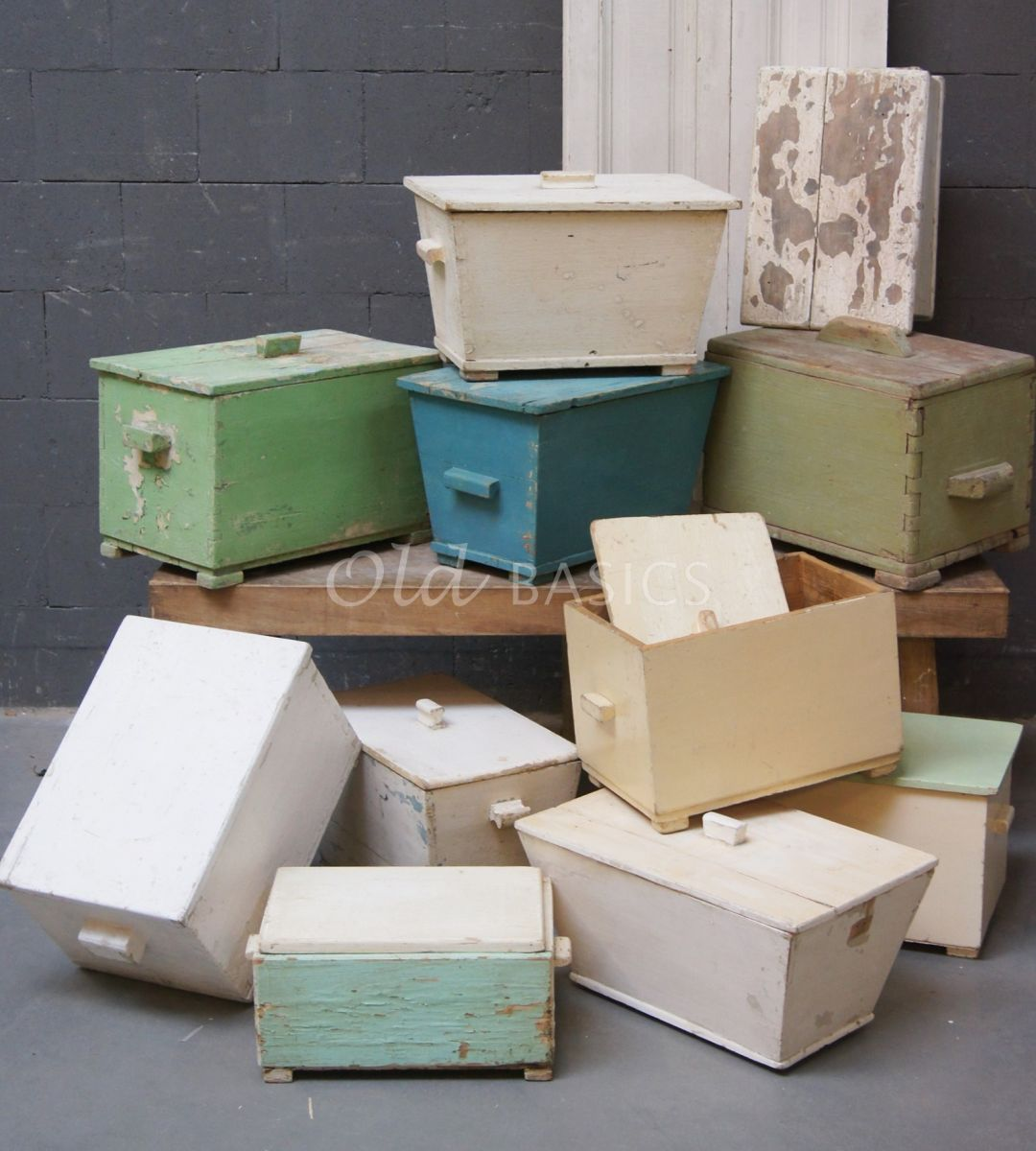 Kist, materiaal hout
