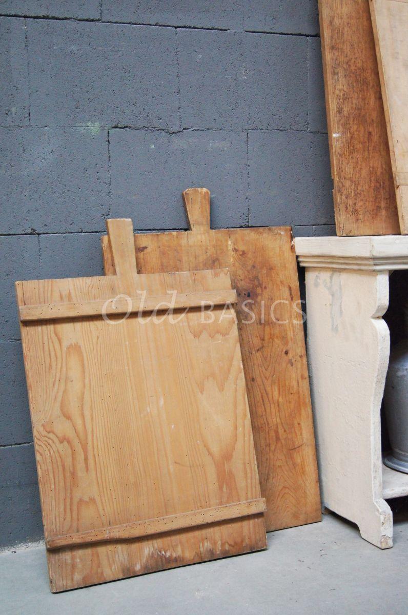 Detail van Broodplank, naturel, materiaal hout