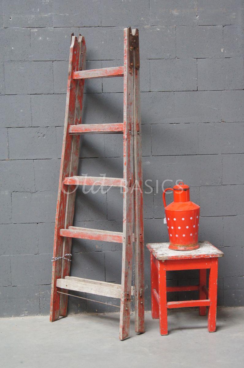 Houten trap 4 1609 001 old basics - Houten trap monteer ...
