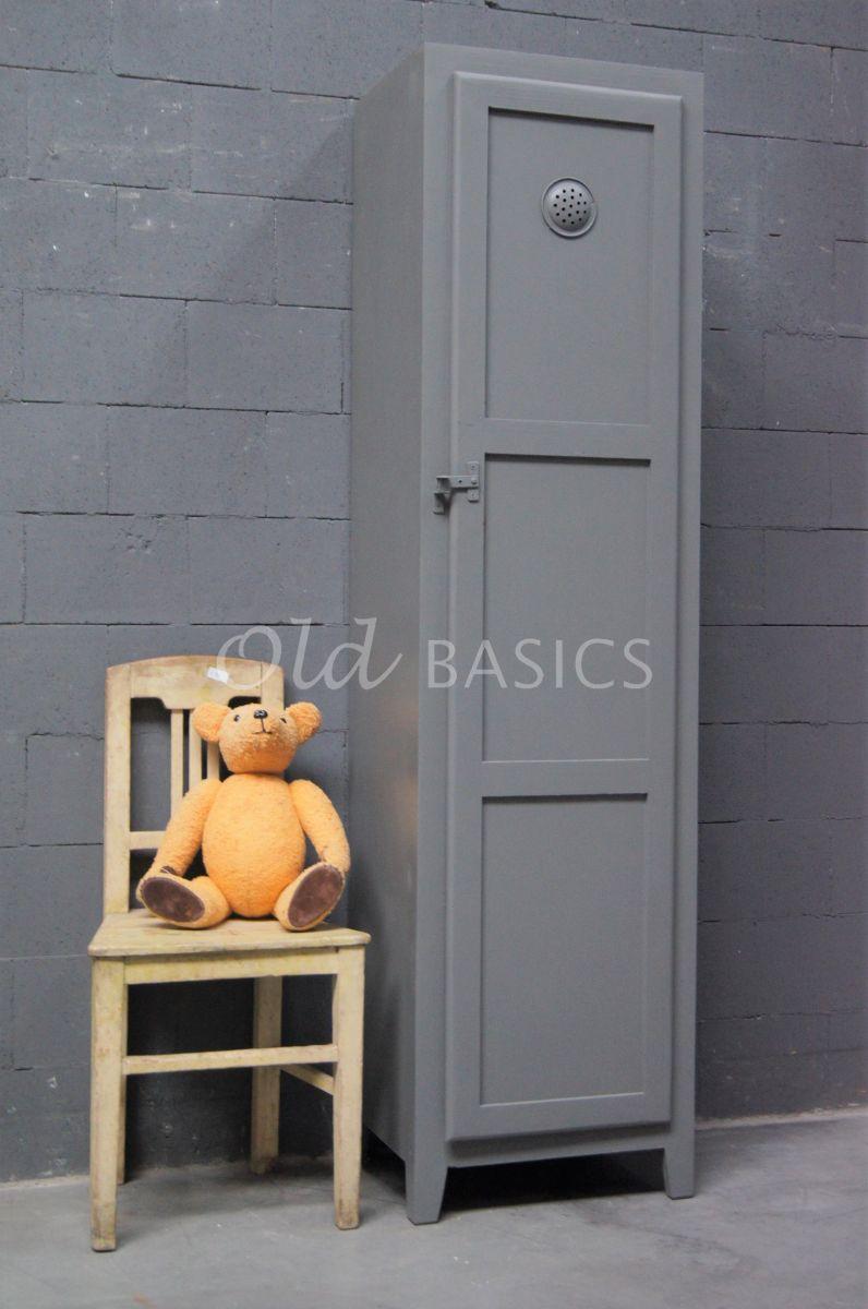 Lockerkast Isac  Lichtgrijs, grijs, materiaal hout