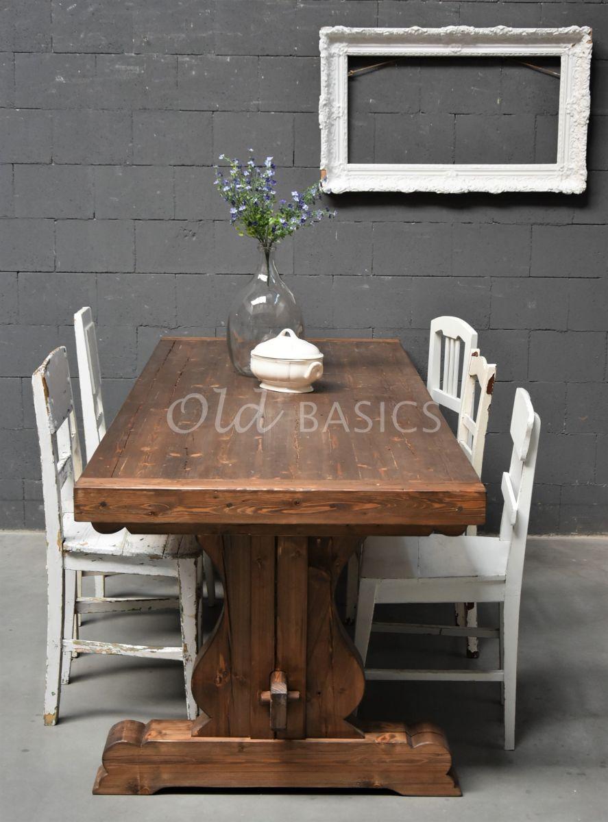 Eettafel Paris, materiaal hout