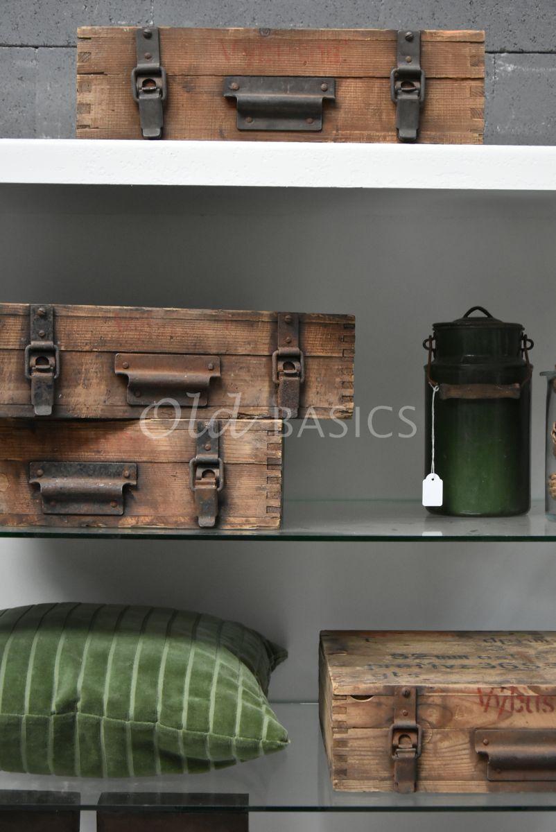 Kist, naturel, materiaal hout