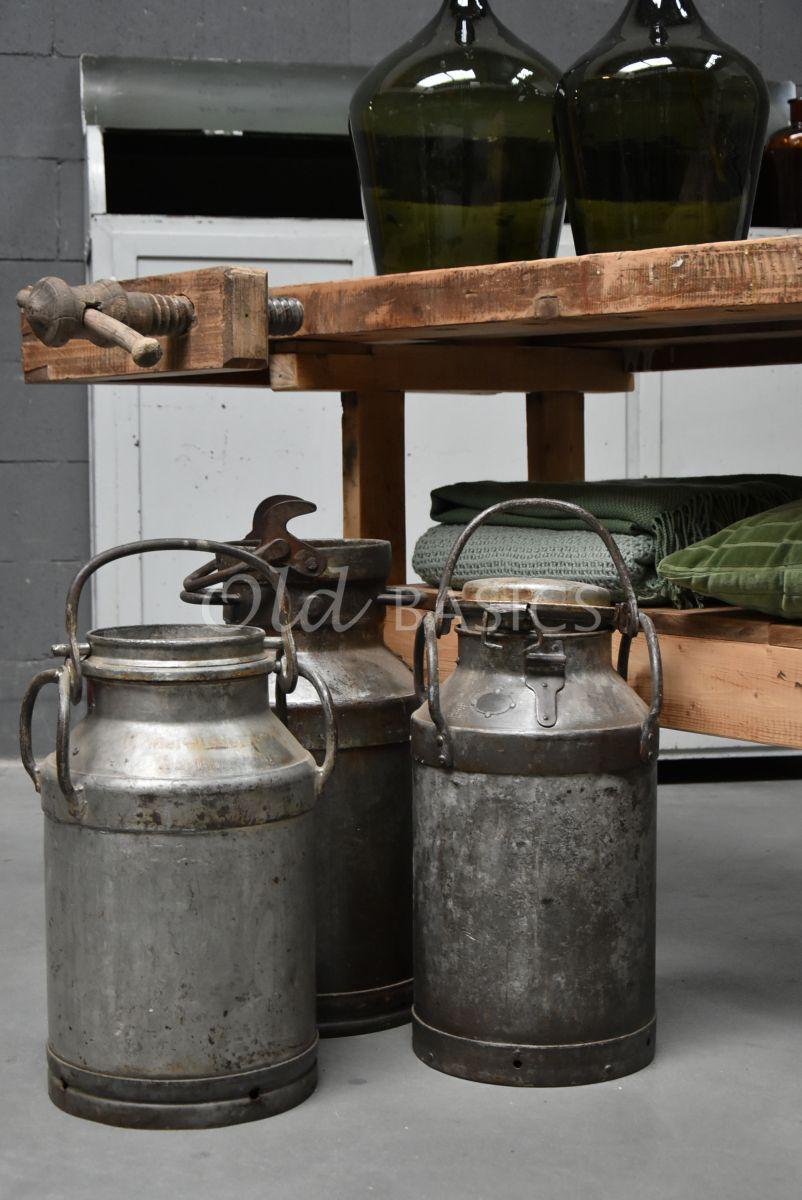 Melkbus, metaal, materiaal staal