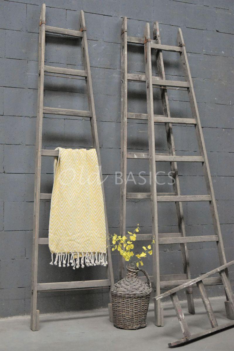 Houten ladder, naturel, materiaal hout