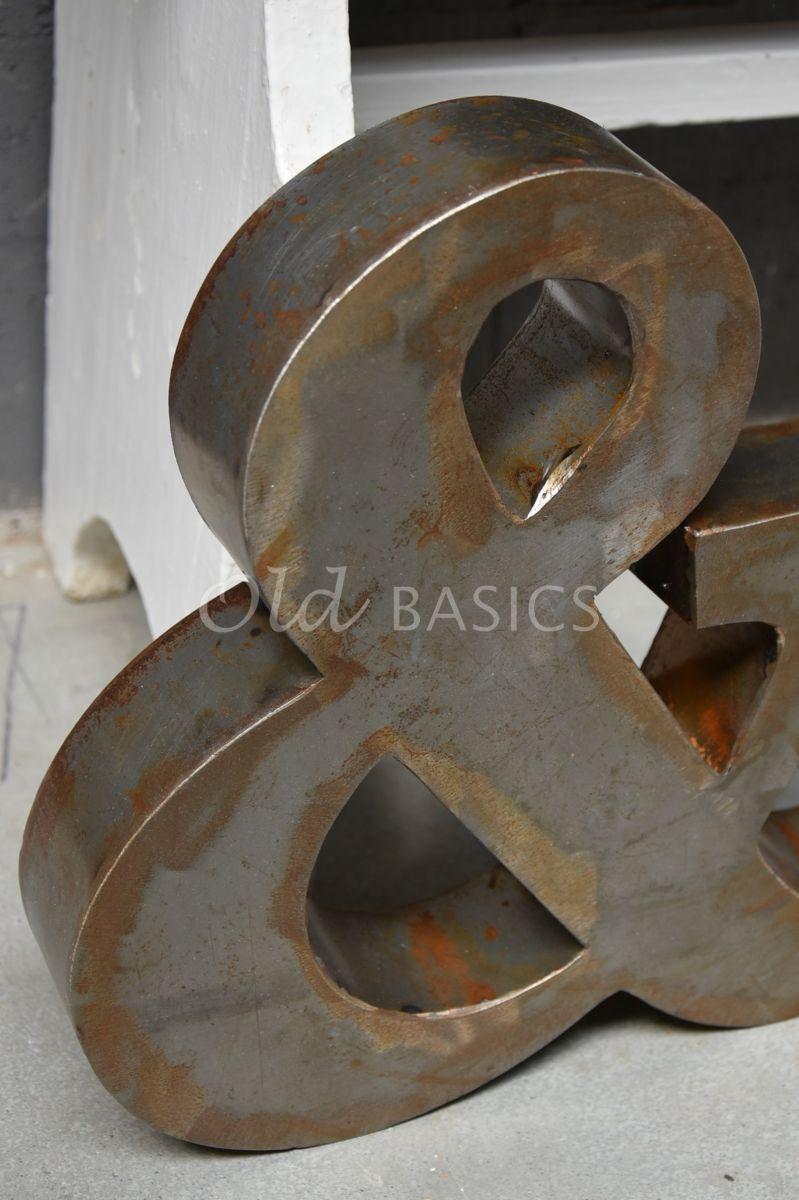 Detail van &teken klein roest, roest, materiaal staal