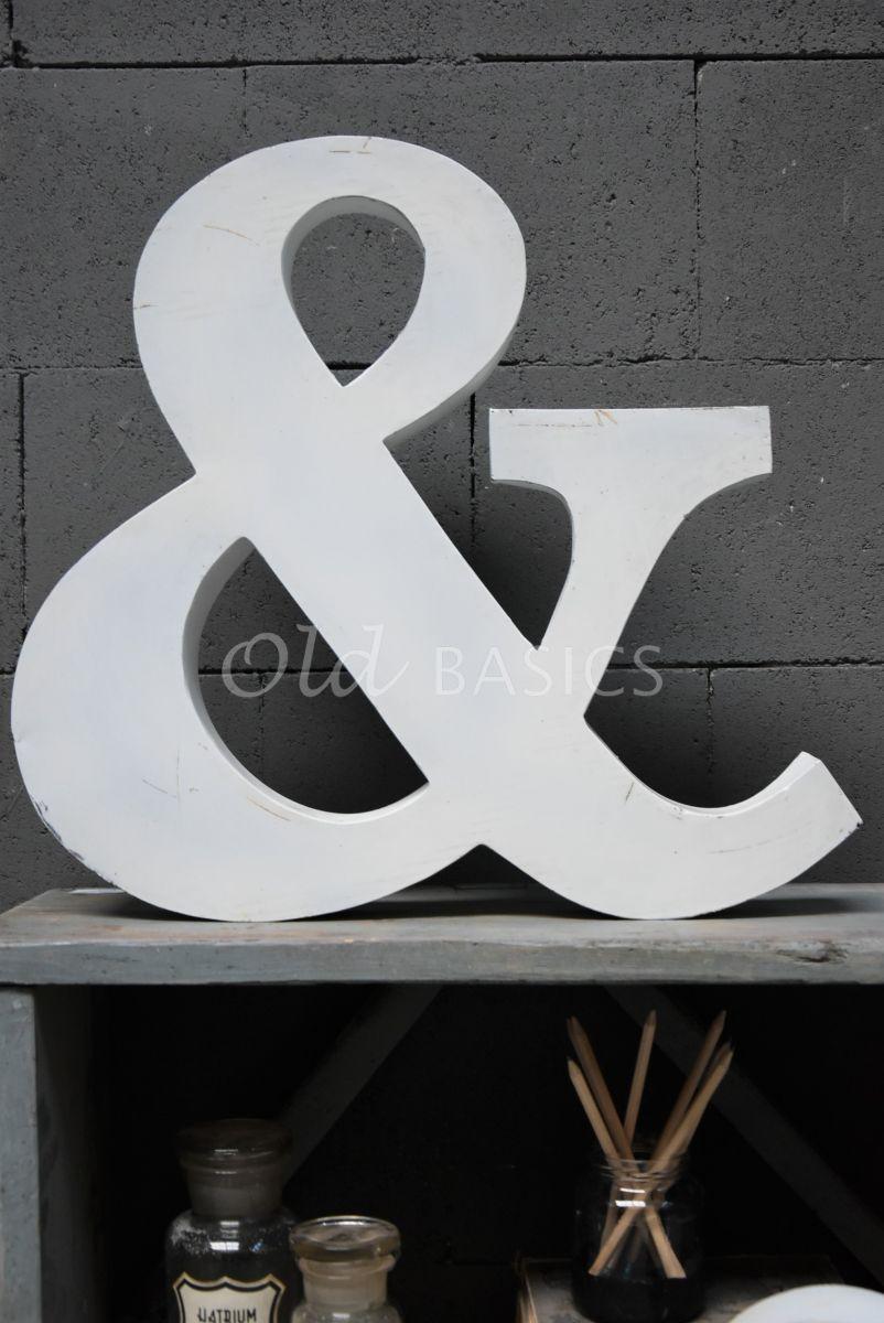 Detail van &teken groot wit, wit, materiaal staal