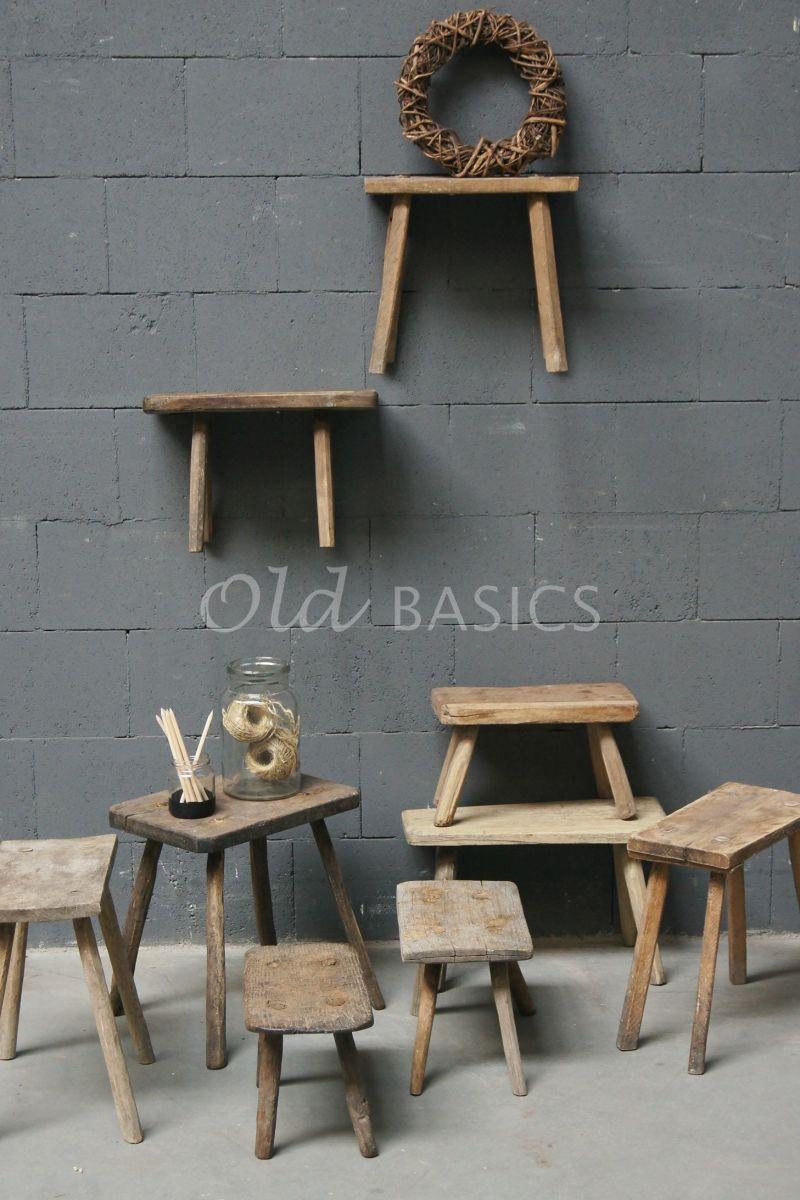 Krukje, naturel, materiaal hout