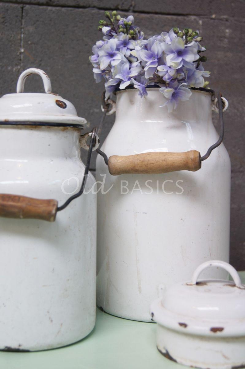 Melkbus, wit, materiaal staal