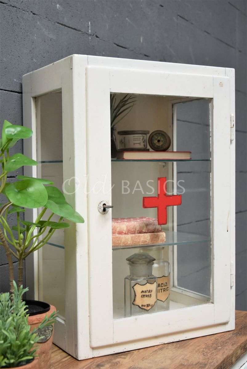 Hangkast, wit, materiaal hout