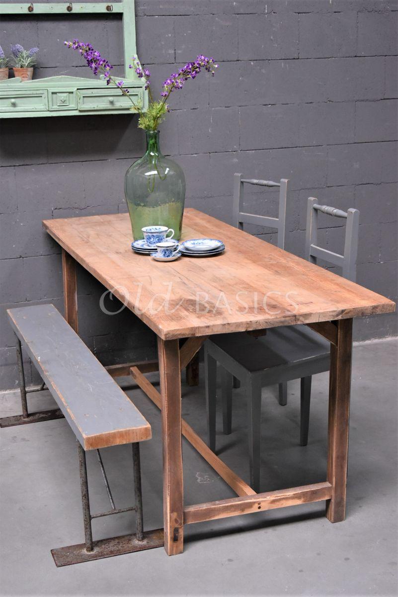 Tafel, naturel, materiaal hout
