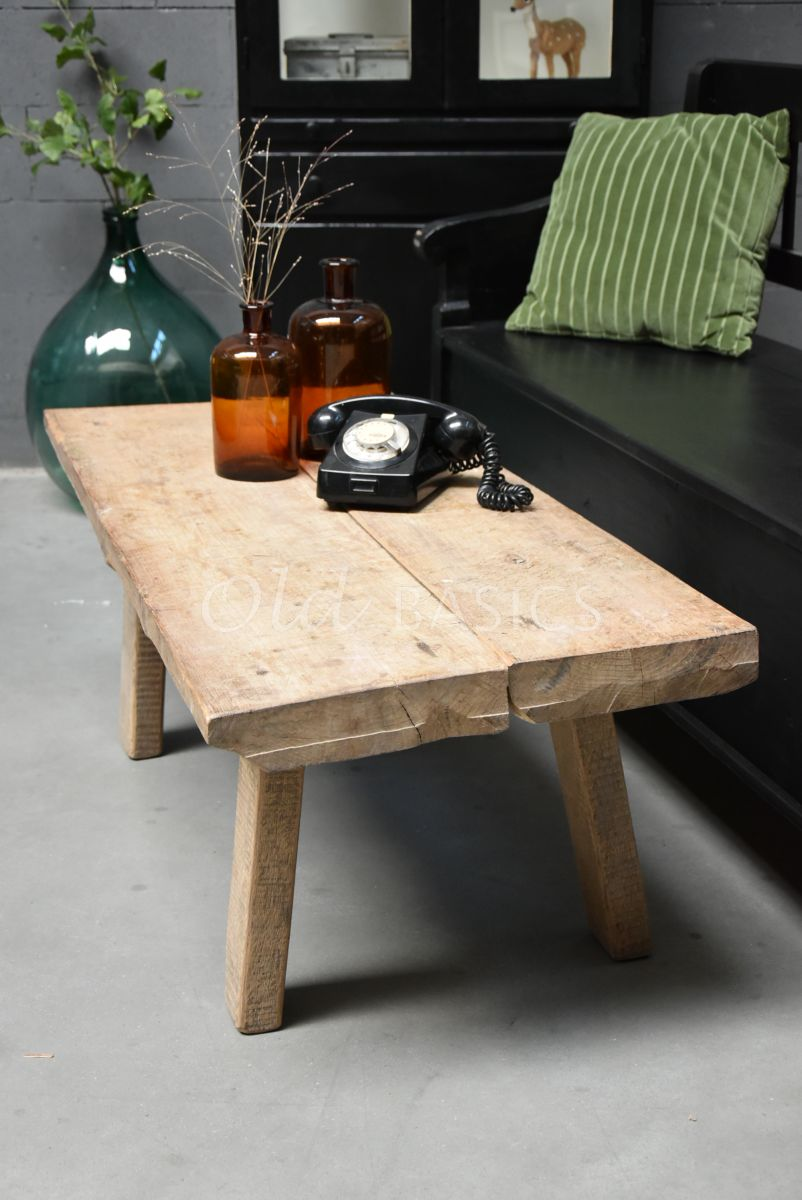 Salontafel, naturel, materiaal hout