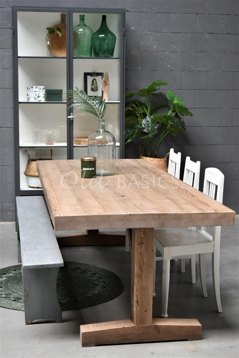 Eettafel Talence, naturel, materiaal hout