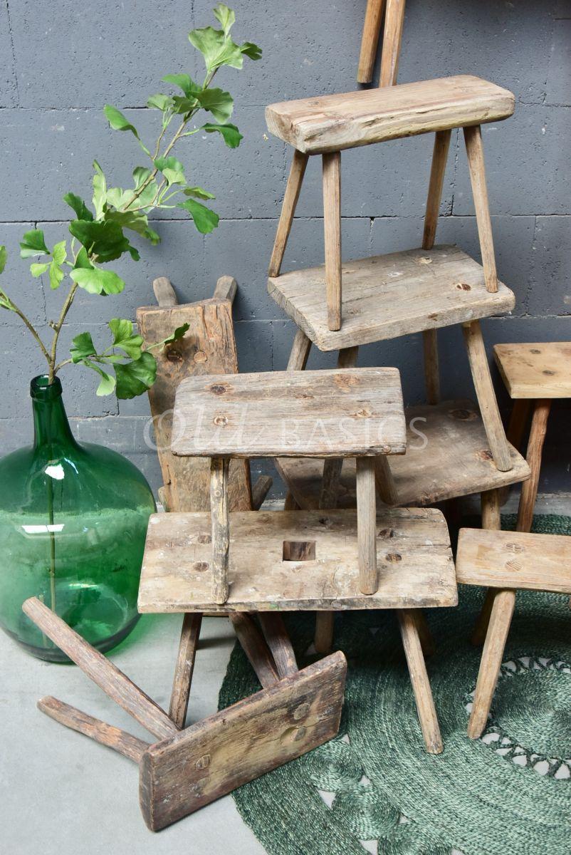 Detail van Melkkrukje, naturel, materiaal hout