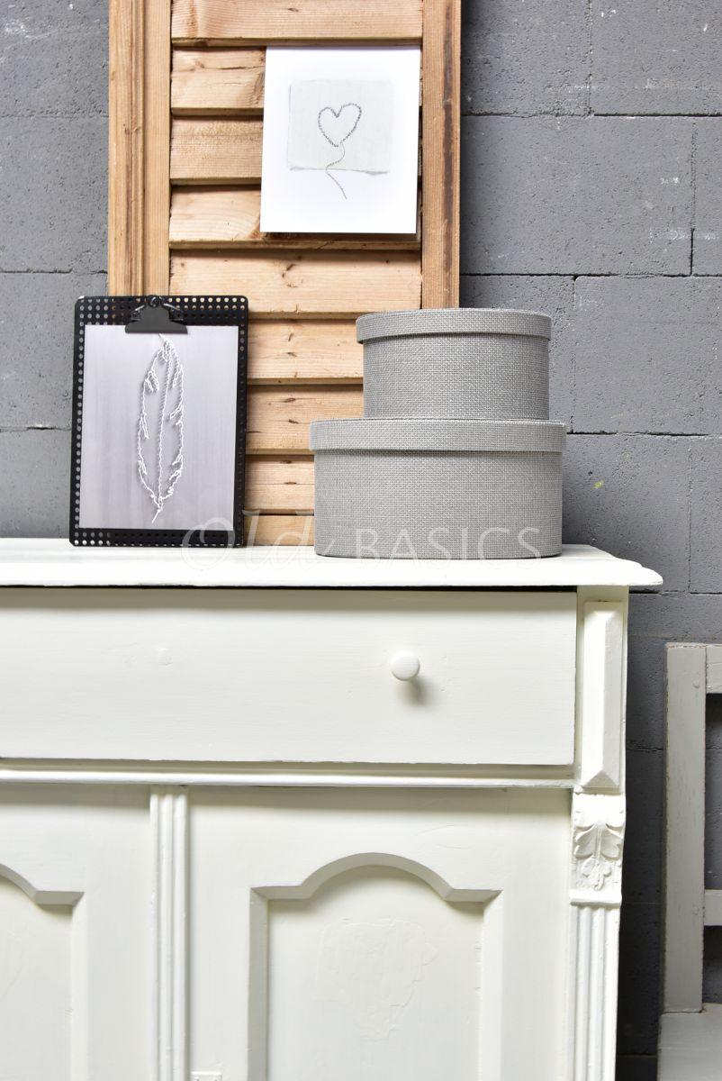 Detail van Onderkast, wit, materiaal hout