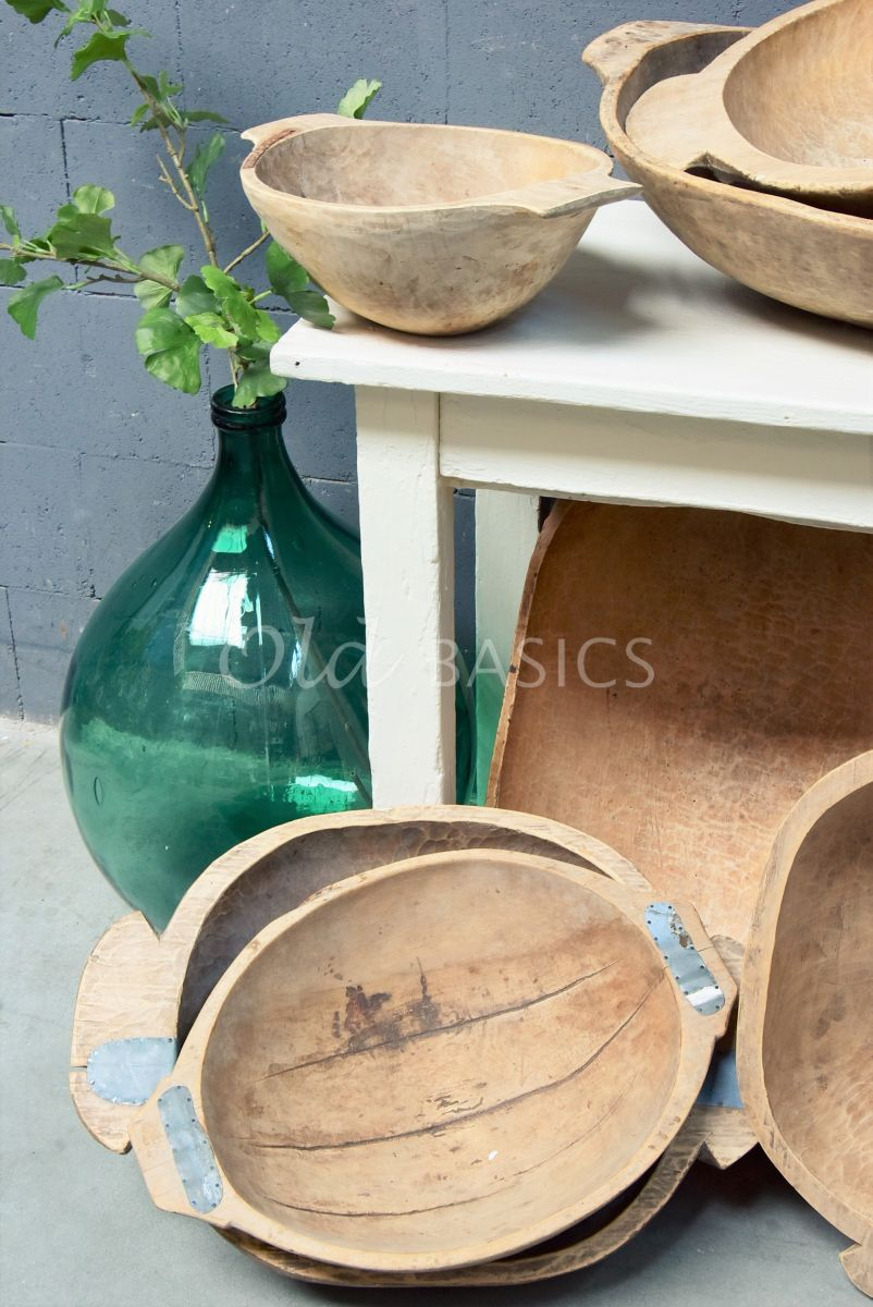 Houten trog M, naturel, materiaal hout