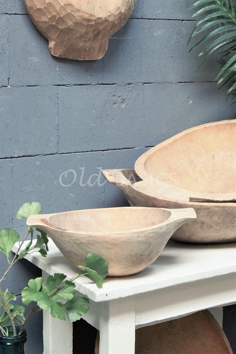 Houten trog S, naturel, materiaal hout